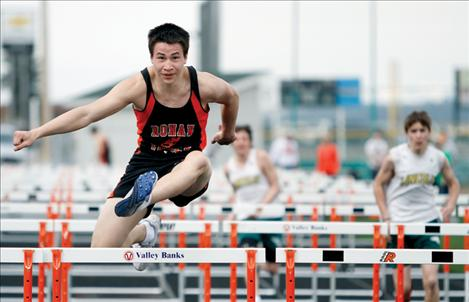 Ronan High School senior Shelby Grant, shown above competing during last year's track season for Ronan, has been accepted to the United States Military Academy at West Point.