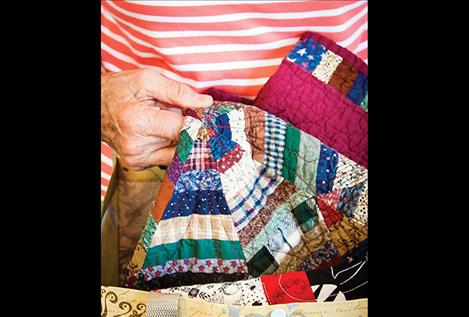 This year's Mission Mountain Quilt Guild theme is Love of Quilting through Curves.
