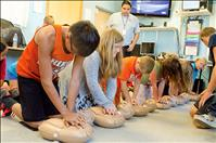 Kids empowered with life saving skills