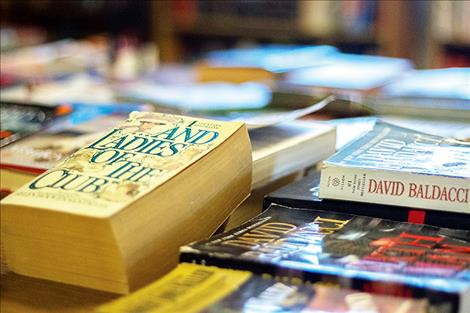 A plethora of used books are sold for $2 a pound at Pretty Good Books in Polson.