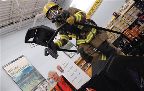 Polson firefighters climb for a cure