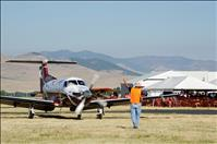 Huckleberry pancakes served at annual fly-in