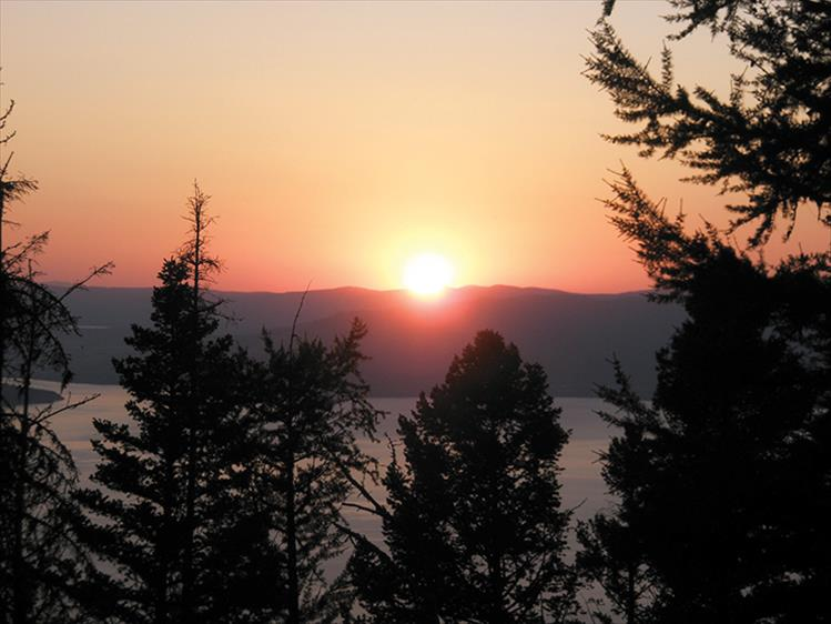 Flathead Lake Sunset