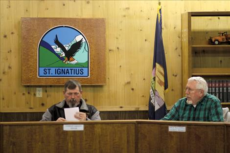 St. Ignatius hires new police officer, moves ahead with water project