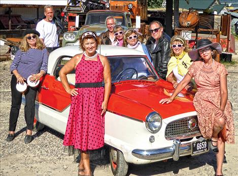 Dayton Daze theme this year is Fired up for the Fifties. Events start at 10 a.m. with a car show, flea market and live music.