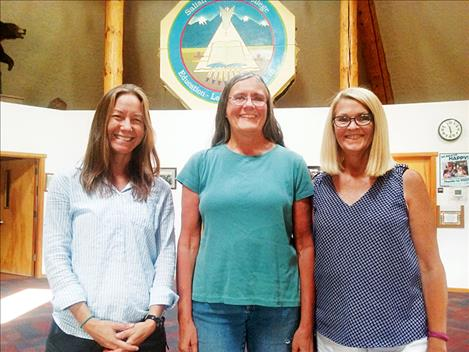 Andrea Panagakis, Libby Rutledge and Mary Larson will teach and manage the STEM Academy at SKC.