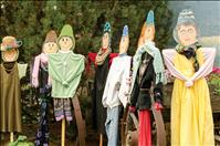 Scarecrows support beautification project