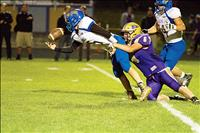 Pirate football celebrates first win at homecoming