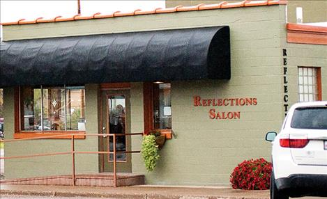 Marilyn Jette purchased the former Burlington Northern railroad depot in 1992 and turned it into a salon.