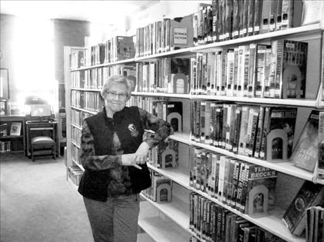 After more than 28 years as the director of Polson's library, Marilyn Trosper will retire in January.