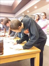 RMS students participate in 'real' student council election