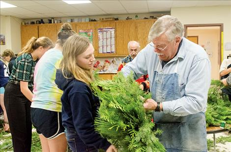 Students ask for community support for Christmas project