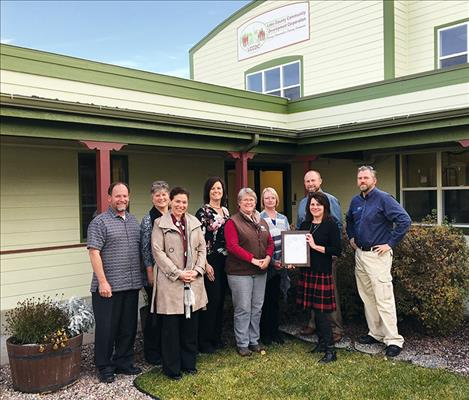 USDA Rural Development honors Lake County Community Development Corporation and its members for its continued dedication to improving the quality of life of rural Montana residents.