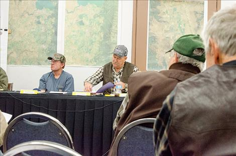 The Flathead Joint Board of Control discusses the Supreme Court's decision regarding the Confederated Salish and Kootenai Tribes' and State of Montana's Water Compact during the Nov. 14 meeting.