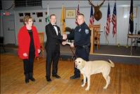 Elks Lodge donates $2,752 for new drug dog