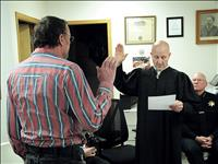 Taking the oath: Ronan judge, reserve officer sworn in last week