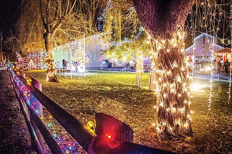 Lights Under the Big Sky lives up to its name with twinkling and shining illuminations everywhere. The Ronan event continues through the weekend of Dec. 17.