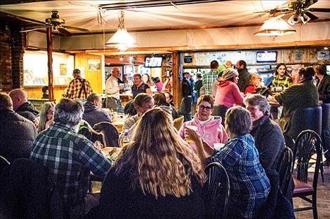 Ronan's Valley Club was chock full of would-be brewery owners on Saturday, Dec. 2 during an ownership drive event for the proposed Ronan  Cooperative Brewery.