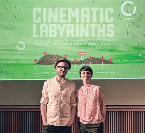 """Cinema Labyrinths"" was created by a couple from Poland. This is an interactive film allowing the audience to choose the direction that the story will go."
