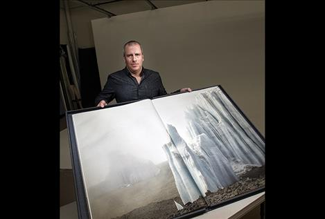MSU photography professor Ian van Coller has  focused his creative energy on making large- format, handmade art books about the melting of  glaciers around the world to demonstrate the impact of climate change. He's co-authored a book about the melting of glaciers in Glacier National Park that is now on display at the Metropolitan Museum of Art in New York City.