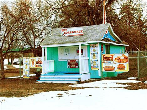 Though the business has changed ownership several times, the snack shack at Boettcher Park has operated for more than 20 years. City officials have decided not to renew the lease agreement for the Boardwalk Café.