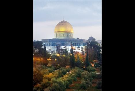 The Temple Mount is a holy site for multipe religions.