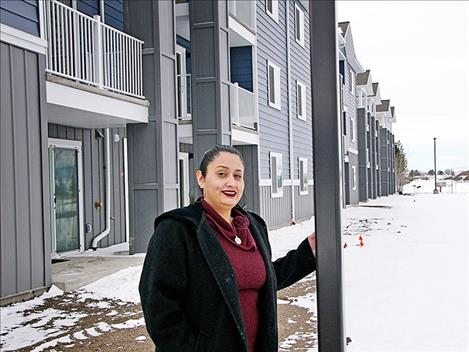 Vanessa Lujan is the property manager at Polson Landing Apartments.