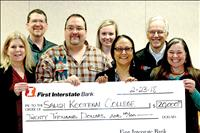 First Interstate donates $20,000 to SKC Hydrology Department