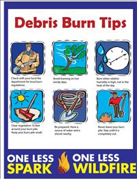 Review debris burning checklist