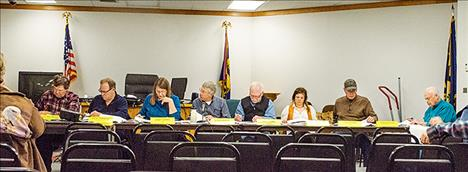 The Lake County Planning Board met on Wednesday  to review the growth policy that is currently being developed.
