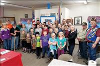 American Legion, VFW host thank you dinner for Ronan clean-up crew