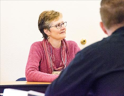 Judy Preston, organizer of the Leadership Flathead Reservation group, said  building relationships and networking can help leaders work cooperatively.