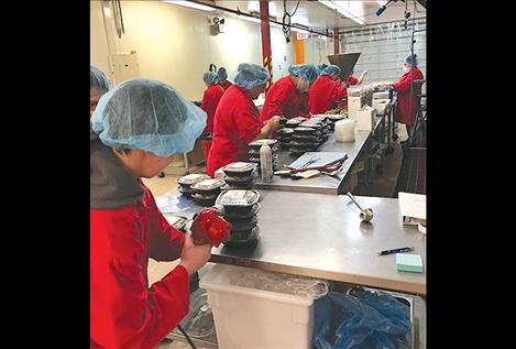 Taste of Amazing produces pre-packaged, high-end gourmet foods at Mission Mountain Food Enterprise Center in Ronan, and sells the meals under the Rosauers label throughout the northwest.