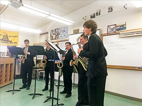 Polson band students fare well at state festival