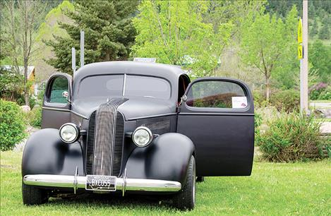 Ron Couture's 1936 Pontiac Silver Streak won for best interior in the Jocko Valley Show and Shine car show to benefit the Arlee Youth  Connection  program.