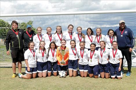 Polson FC U16 State Cup Champs