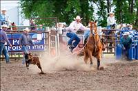 Locals win barrels, saddle bronc events at Mission Mountain Rodeo