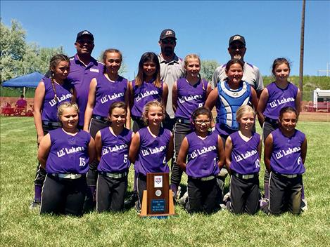 Lil Lakers 10U third place state finalist for 2018
