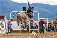 Arlee Rodeo catapults riders into the air