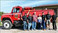 Chief Cliff VFD/QRU receives local grant