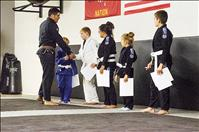 Children learn self-defense during summer program