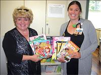 St. Joseph Medical Center receives gift of books