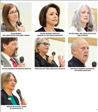 Candidates address issues at forum