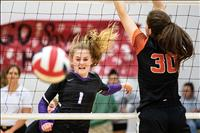 Lady Vikings, Lady Pirates enter volleyball divisional postseason