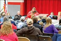 Arlee community meets to discuss gun incident