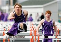 Young Viking track team nears peak