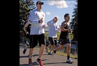 Runners, bikers carry torch through Lake County