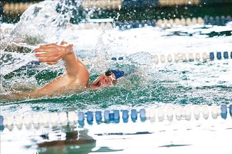Lake Monsters welcome swimmers annual swim meet