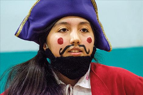 Shakira Braffato plays Blackbeard.