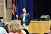 Superintendent holds community forum regarding Linderman gym